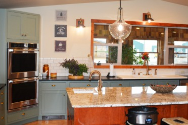 This Kitchen cabinetry is from the Starmark Inset line.